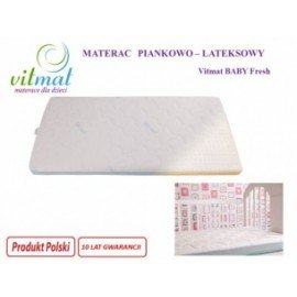 Materac piankowy ECOBaby 120/60/9