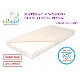 Materac piankowy ECOBaby 120/60