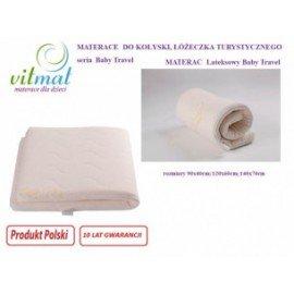 Materac lateksowy Vitmat Baby Travel 120x60x5cm