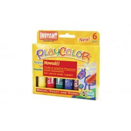 Farby w sztyfcie 6 kolorów