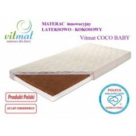 Materac lateksowo-kokosowy Baby
