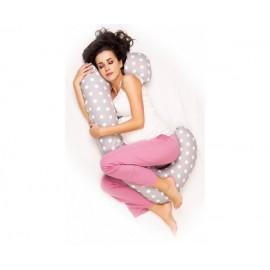 Poduszka ciążowa do spania typ J-bawełniana