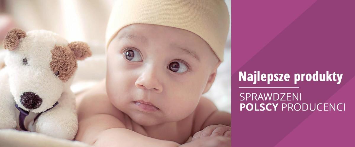 Bezpieczne i sprawdzone produkty dla dzieci od polskich producentów